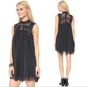{Free People} Printed Penny Babylon Beaded Dress